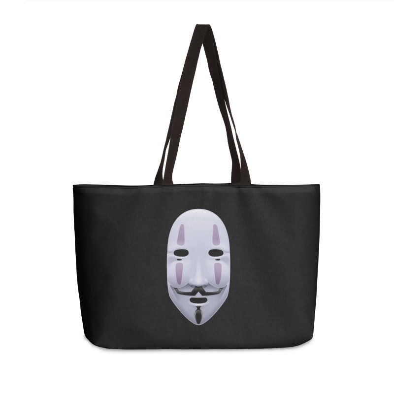 Absolutely Anonymous Accessories Weekender Bag Bag by Zhion T-Shop