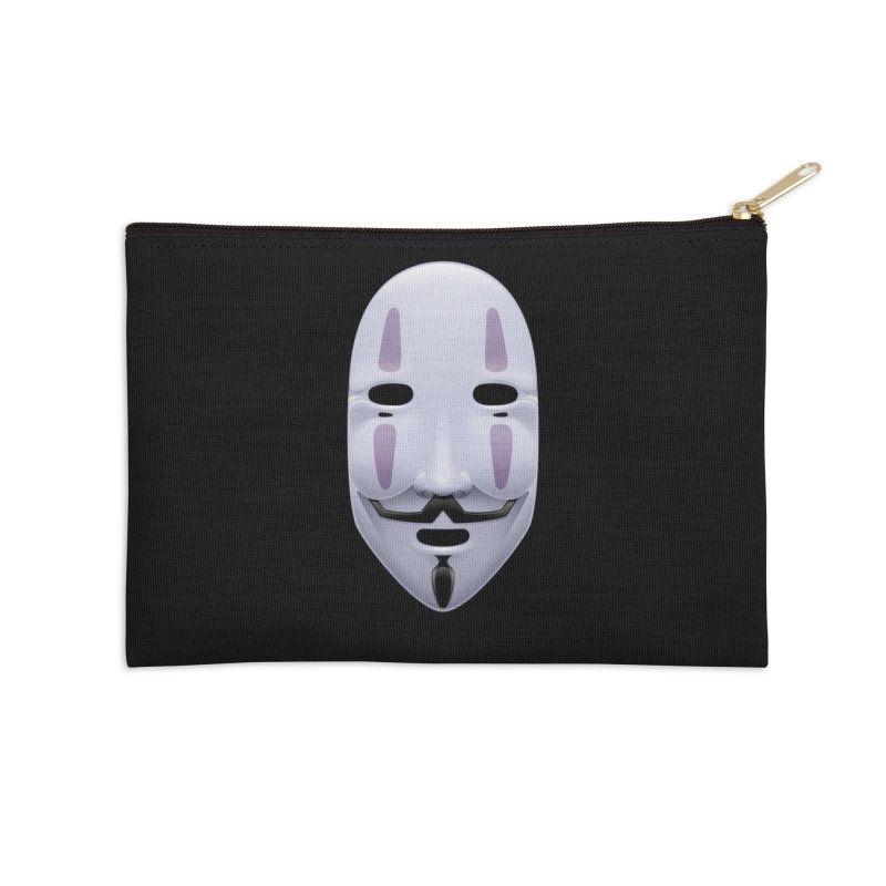 Absolutely Anonymous Accessories Zip Pouch by Zhion T-Shop