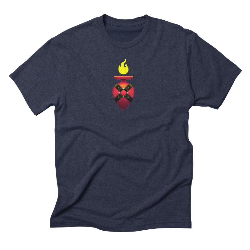 Devotion Men's Triblend T-Shirt by Zhion T-Shop