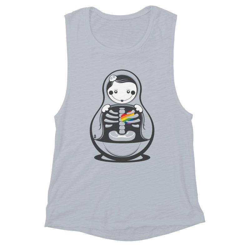Rainbow Inside Women's Tank by Zhion T-Shop