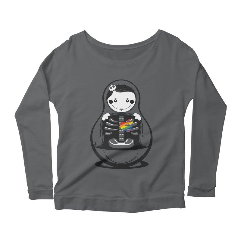 Rainbow Inside Women's Longsleeve T-Shirt by Zhion T-Shop