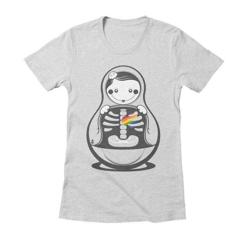 Rainbow Inside Women's T-Shirt by Zhion T-Shop