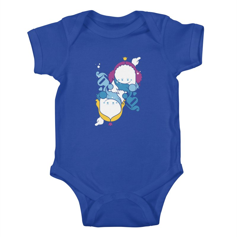 Dancing Queens Kids Baby Bodysuit by Zhion T-Shop