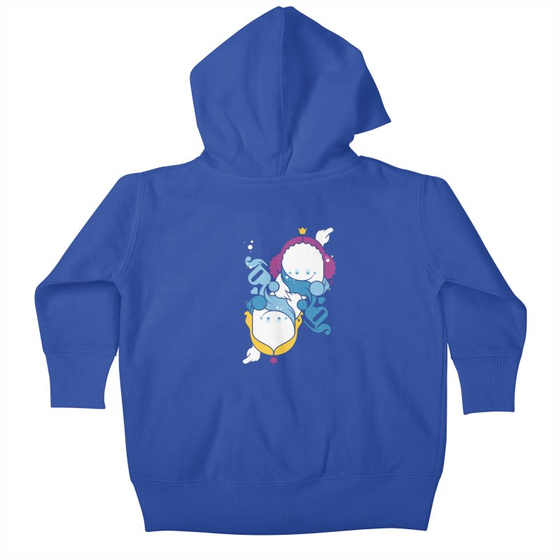 Dancing Queens Kids Baby Zip-Up Hoody by Zhion T-Shop