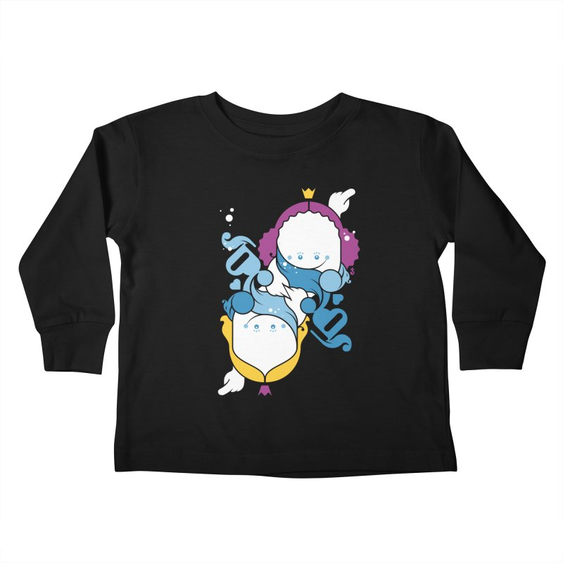 Dancing Queens Kids Toddler Longsleeve T-Shirt by Zhion T-Shop
