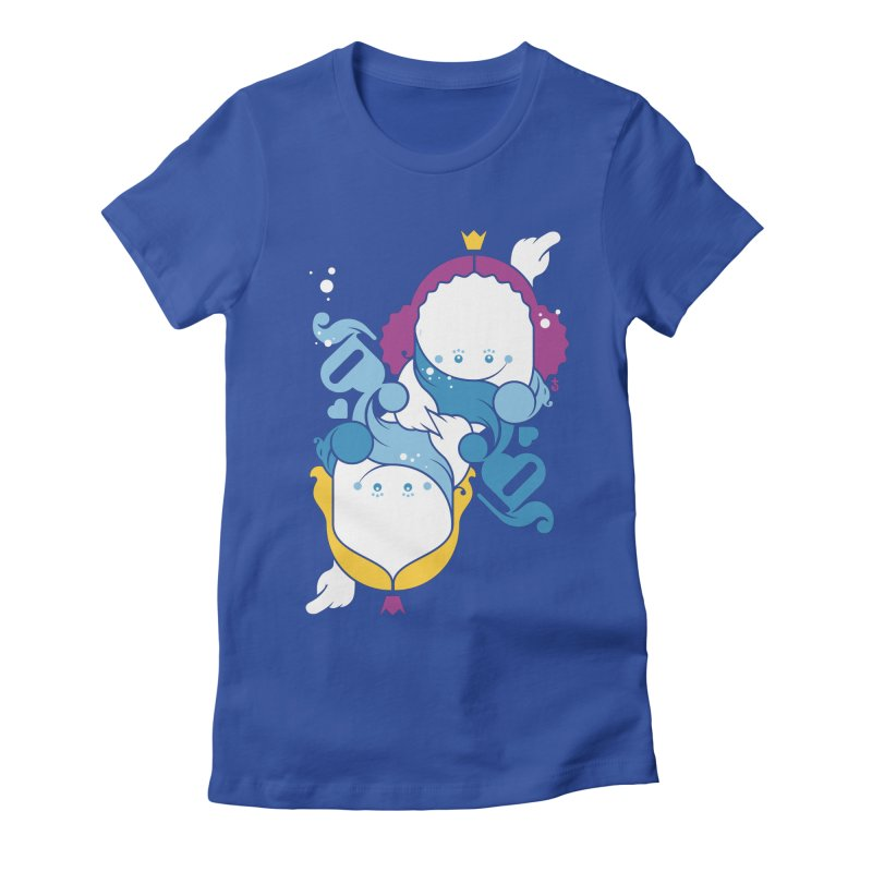 Dancing Queens Women's Fitted T-Shirt by Zhion T-Shop