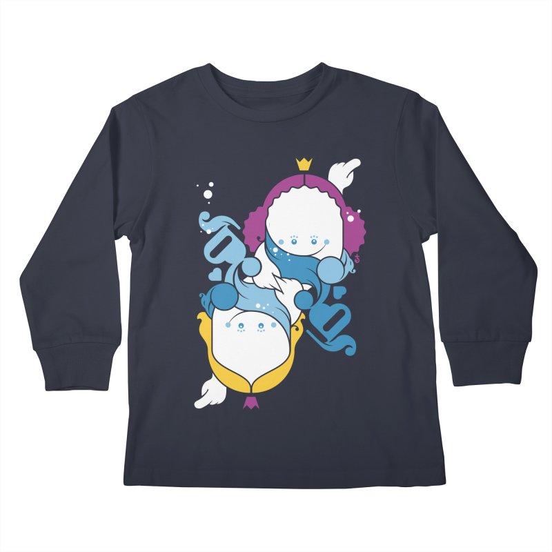Dancing Queens Kids Longsleeve T-Shirt by Zhion T-Shop