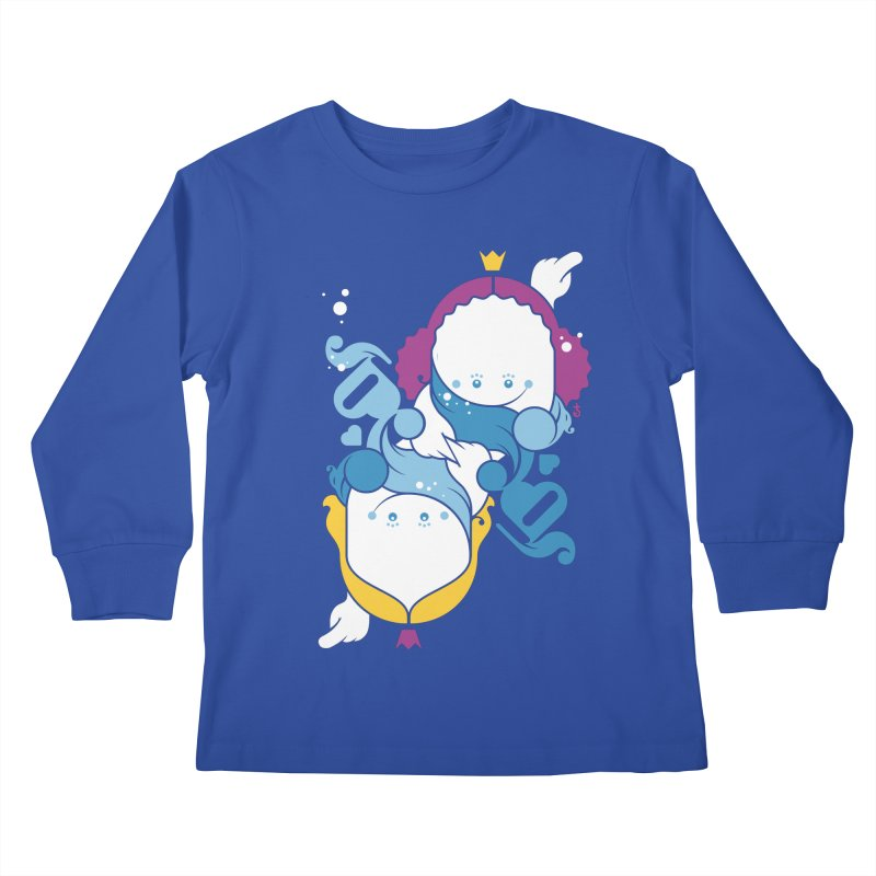 Dancing Queens Kids Longsleeve T-Shirt by Zhion T-Shop