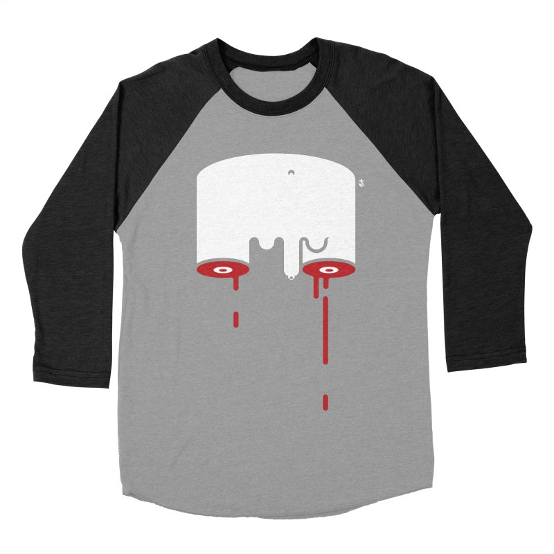 Uncut Women's Baseball Triblend Longsleeve T-Shirt by Zhion T-Shop