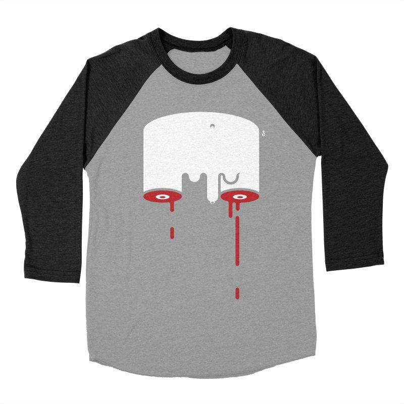 Uncut Men's Baseball Triblend Longsleeve T-Shirt by Zhion T-Shop