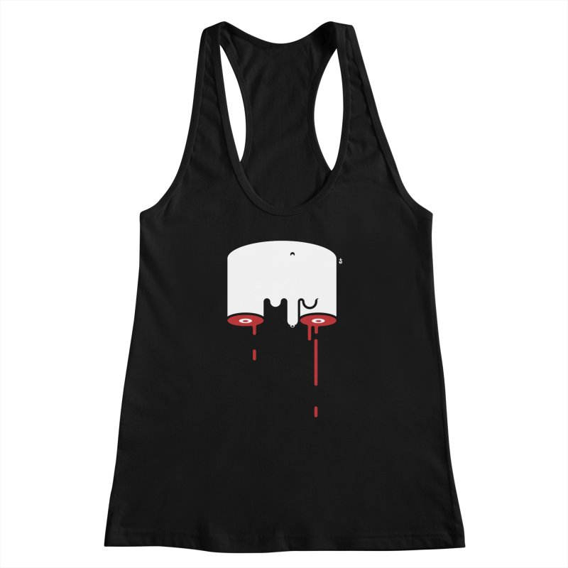 Uncut Women's Racerback Tank by Zhion T-Shop