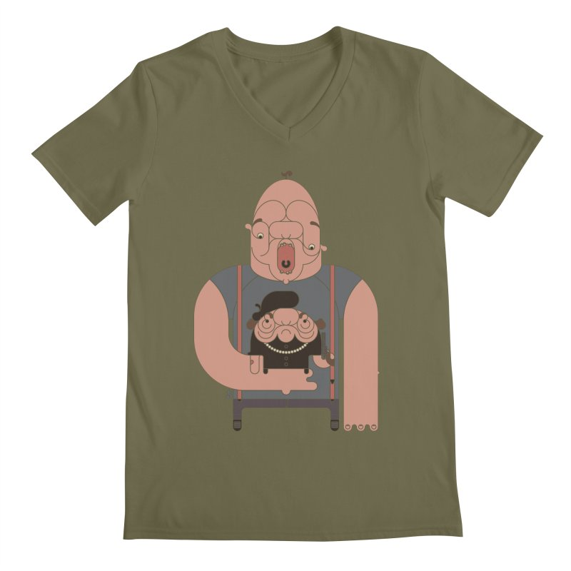 Mommy Issues Men's V-Neck by Zhion T-Shop