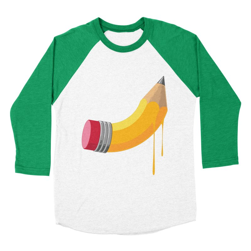 Ignite Men's Baseball Triblend Longsleeve T-Shirt by Zhion T-Shop