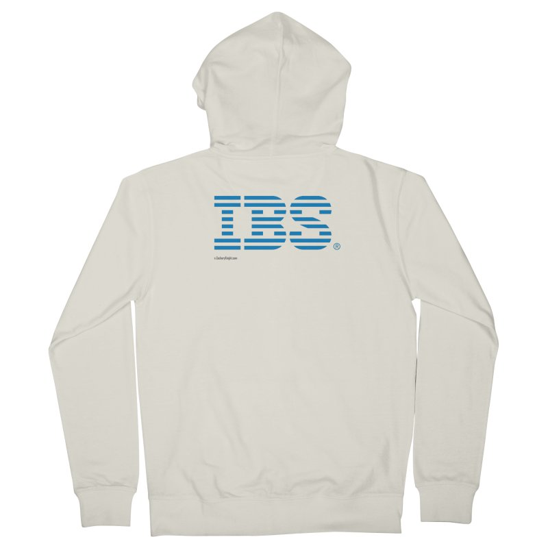 IBS Men's French Terry Zip-Up Hoody by Zachary Knight | Artist Shop