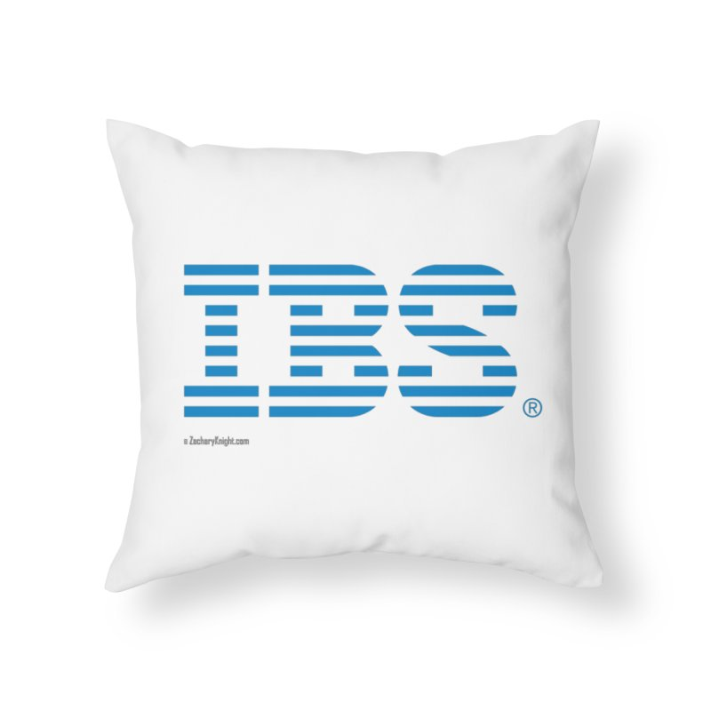 IBS Home Throw Pillow by Zachary Knight | Artist Shop