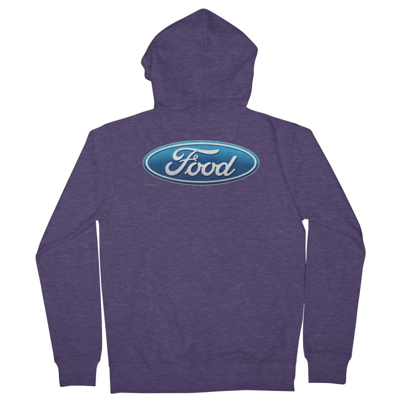 Food Men's French Terry Zip-Up Hoody by Zachary Knight | Artist Shop