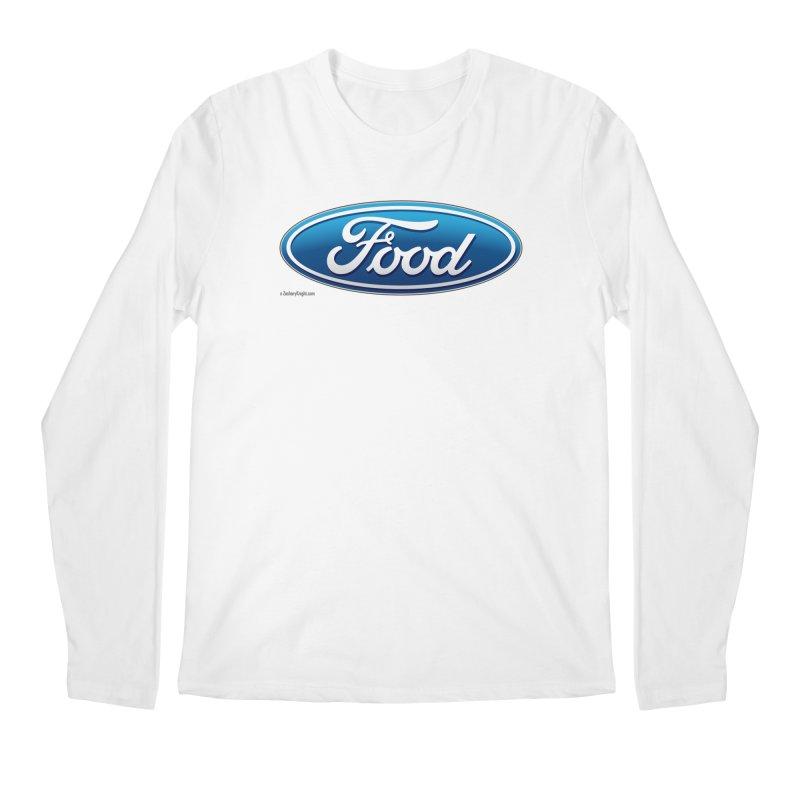 Food Men's Regular Longsleeve T-Shirt by Zachary Knight   Artist Shop