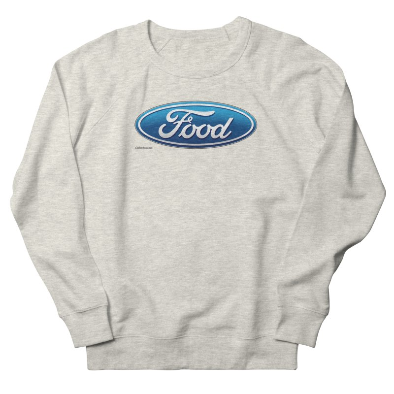 Food Women's French Terry Sweatshirt by Zachary Knight | Artist Shop