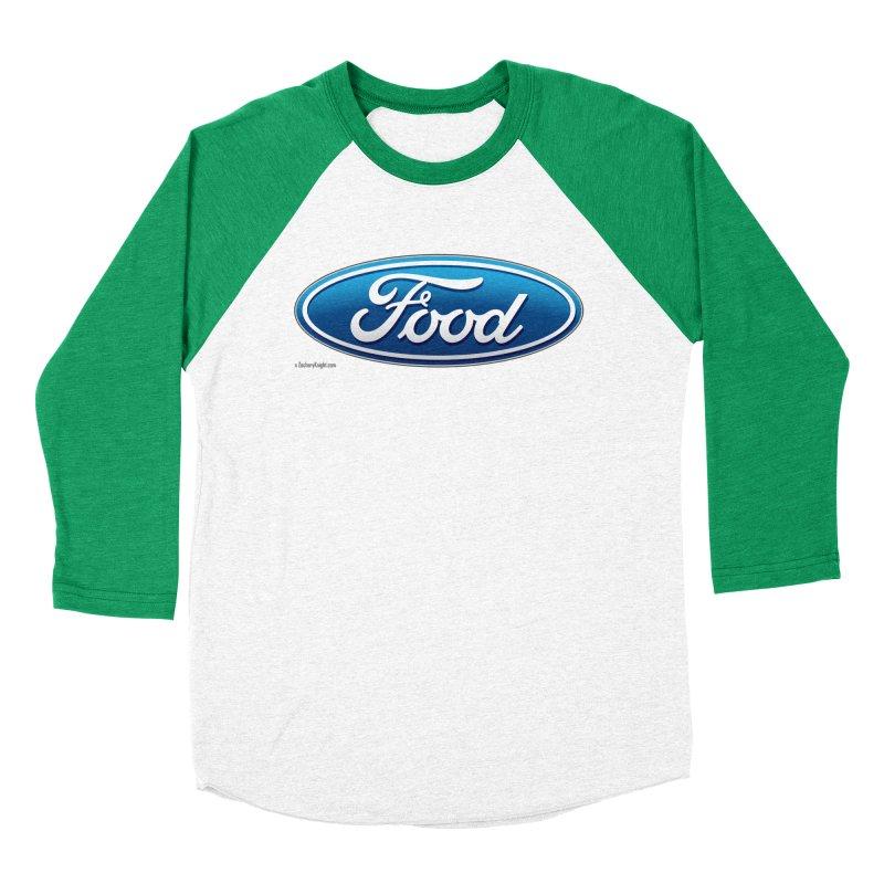 Food Women's Baseball Triblend Longsleeve T-Shirt by Zachary Knight | Artist Shop