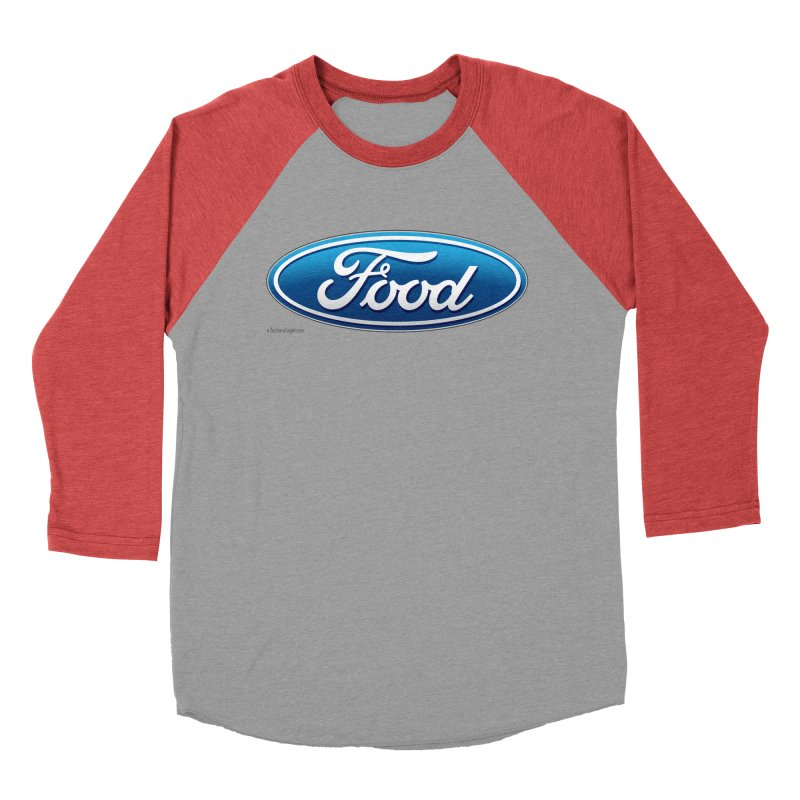 Food Women's Baseball Triblend Longsleeve T-Shirt by Zachary Knight | Artist Shop