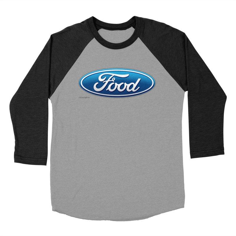 Food Women's Baseball Triblend T-Shirt by Zachary Knight | Artist Shop