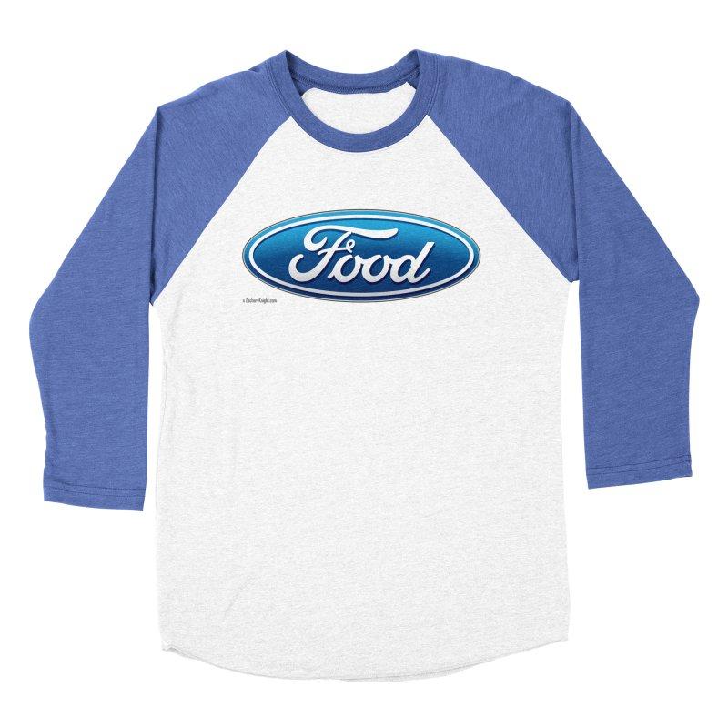 Food Men's Baseball Triblend T-Shirt by Zachary Knight | Artist Shop