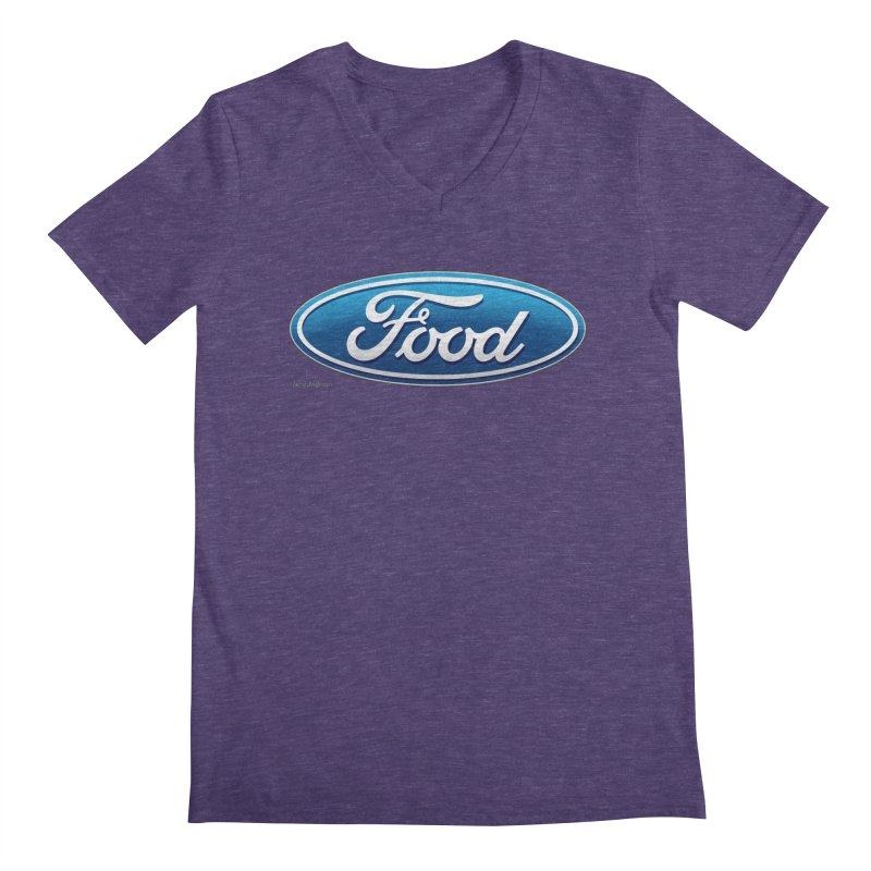 Food Men's V-Neck by Zachary Knight | Artist Shop