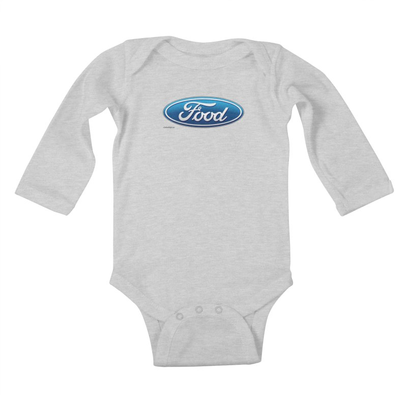 Food Kids Baby Longsleeve Bodysuit by Zachary Knight | Artist Shop