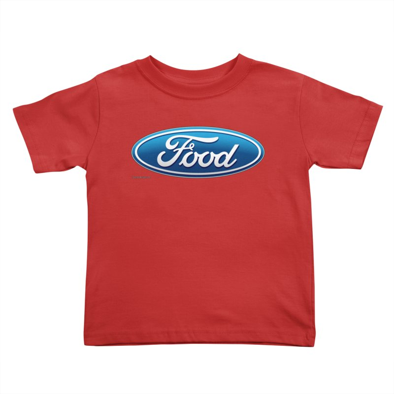 Food Kids Toddler T-Shirt by Zachary Knight | Artist Shop