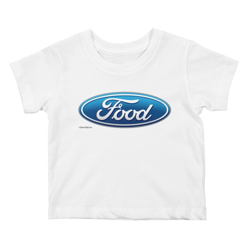 Food Kids Baby T-Shirt by Zachary Knight | Artist Shop
