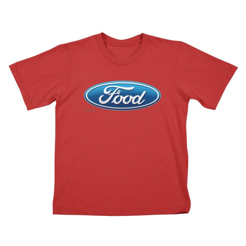 Food Kids T-Shirt by Zachary Knight   Artist Shop
