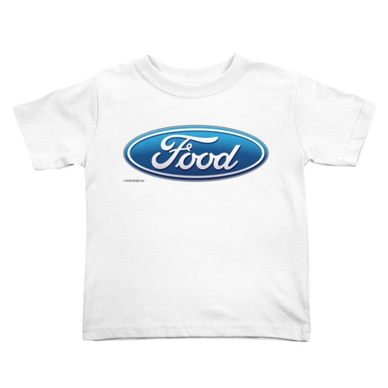 Food Kids Toddler T-Shirt by Zachary Knight | Artist Shop