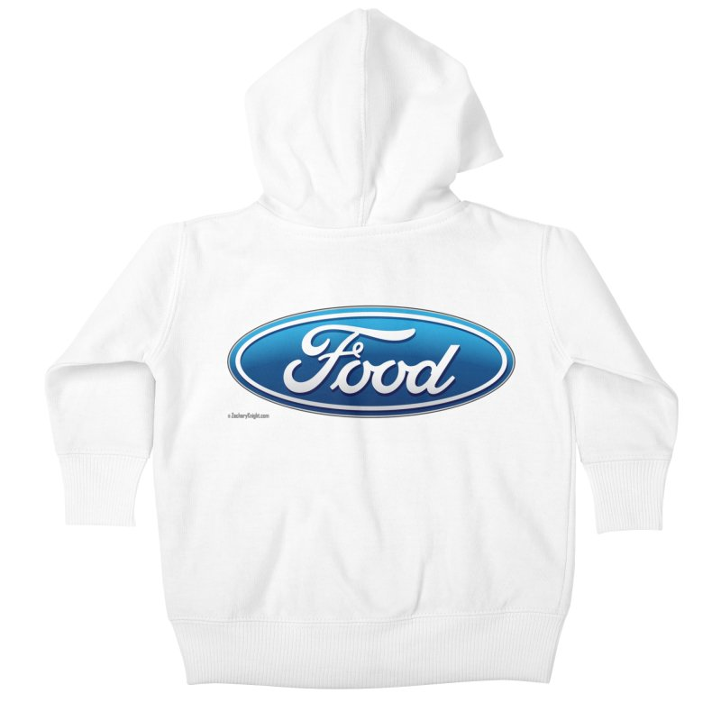 Food Kids Baby Zip-Up Hoody by Zachary Knight | Artist Shop