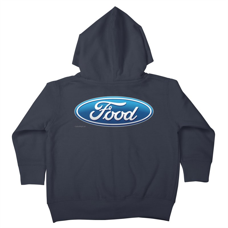 Food Kids Toddler Zip-Up Hoody by Zachary Knight | Artist Shop