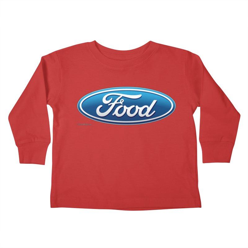 Food Kids Toddler Longsleeve T-Shirt by Zachary Knight   Artist Shop