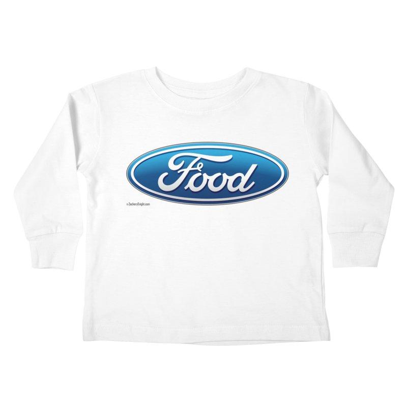 Food Kids Toddler Longsleeve T-Shirt by Zachary Knight | Artist Shop