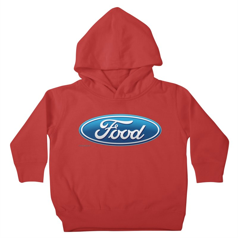Food Kids Toddler Pullover Hoody by Zachary Knight | Artist Shop
