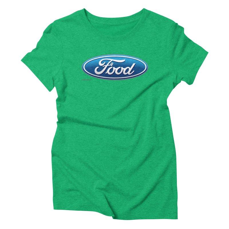 Food Women's Triblend T-Shirt by Zachary Knight   Artist Shop