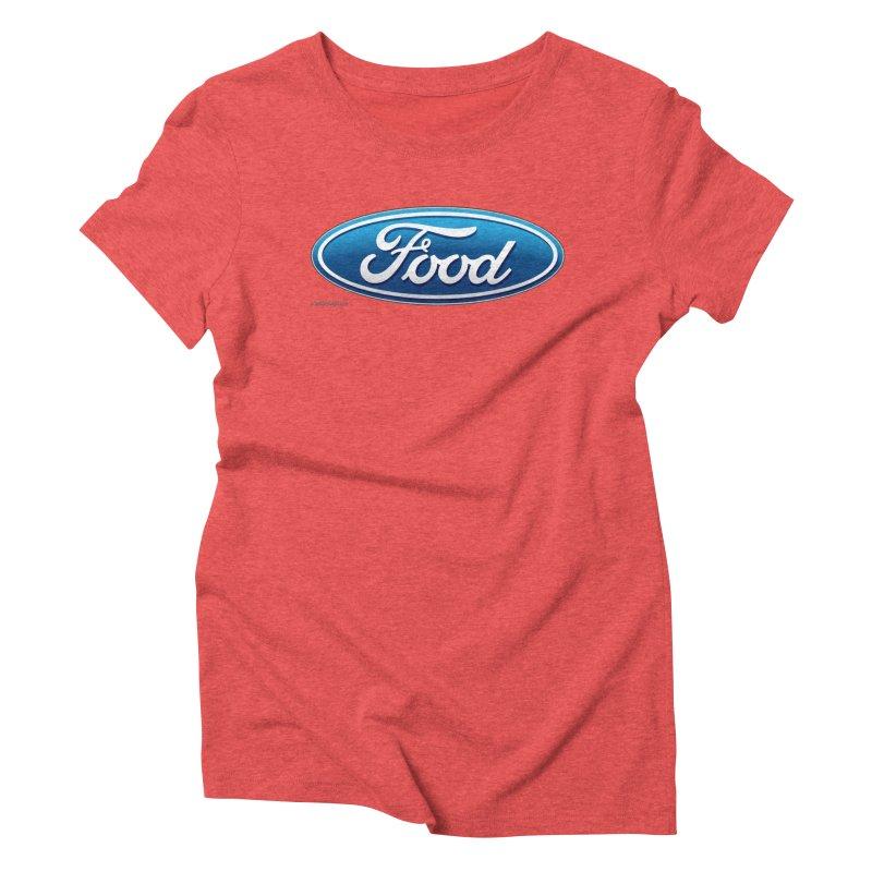 Food Women's Triblend T-Shirt by Zachary Knight | Artist Shop