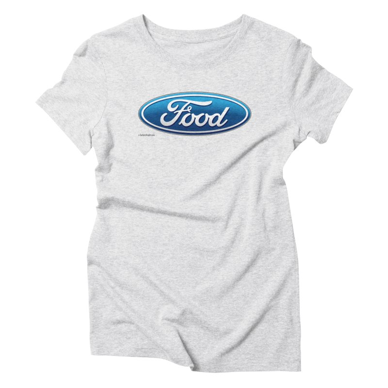 Food Women's Triblend T-Shirt by Zachary Knight | Artist Shop