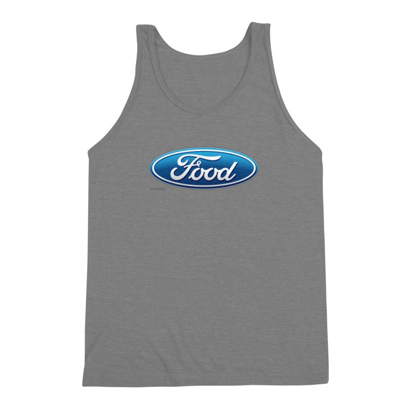 Food Men's Triblend Tank by Zachary Knight | Artist Shop