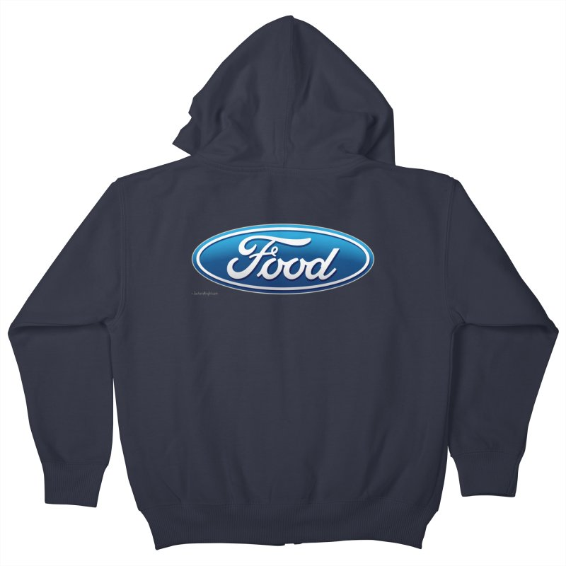 Food Kids Zip-Up Hoody by Zachary Knight | Artist Shop
