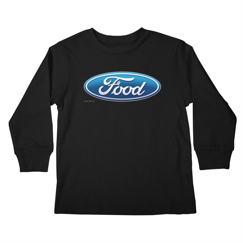 Food Kids Longsleeve T-Shirt by Zachary Knight | Artist Shop