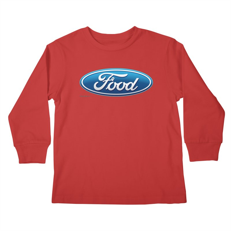Food Kids Longsleeve T-Shirt by Zachary Knight | Artist Shop