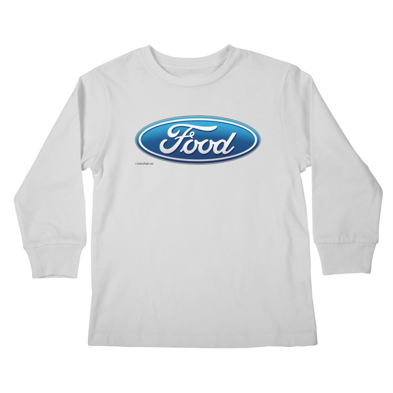 Food Kids Longsleeve T-Shirt by Zachary Knight   Artist Shop