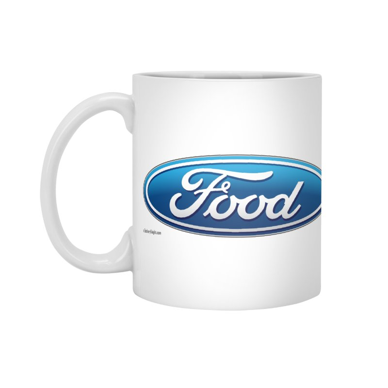 Food Accessories Mug by Zachary Knight | Artist Shop