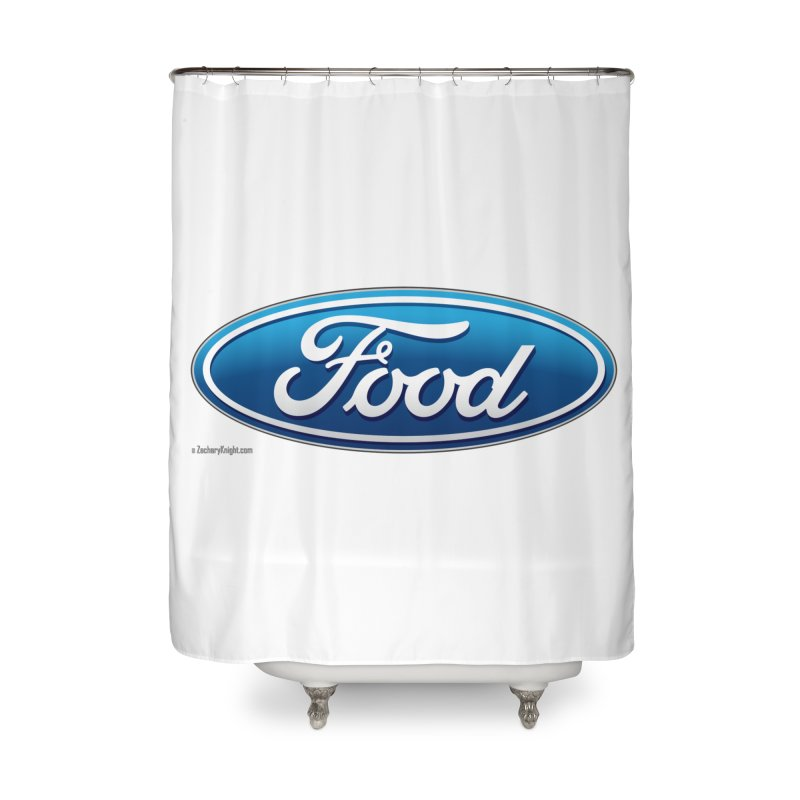 Food Home Shower Curtain by Zachary Knight | Artist Shop