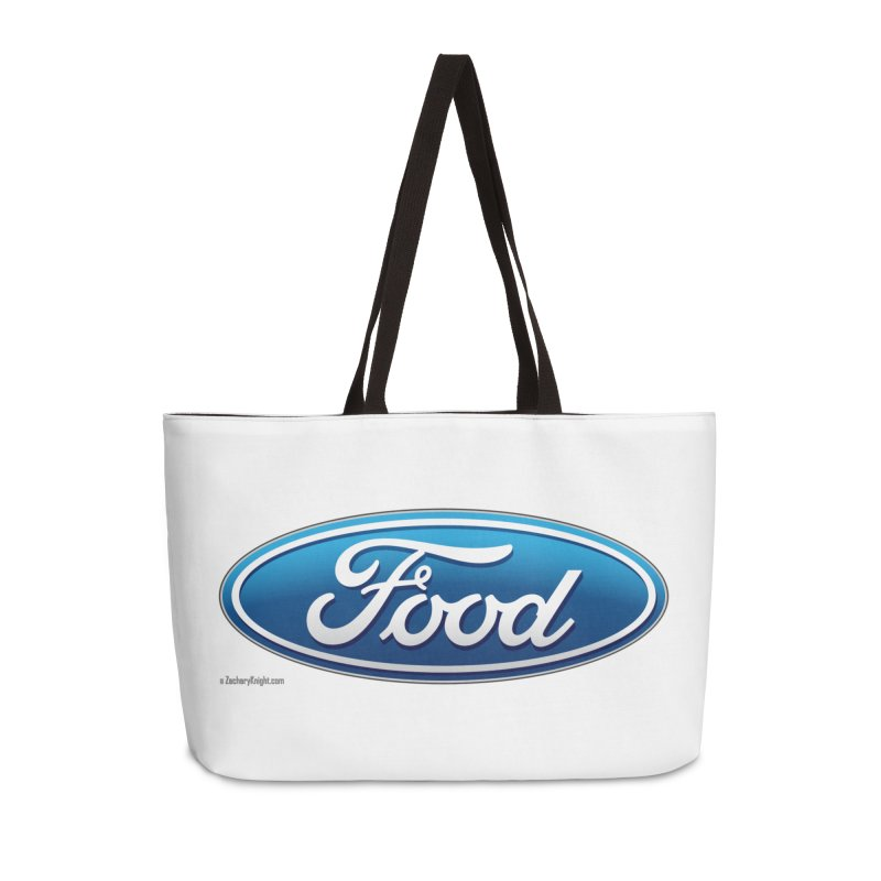 Food Accessories Weekender Bag Bag by Zachary Knight | Artist Shop