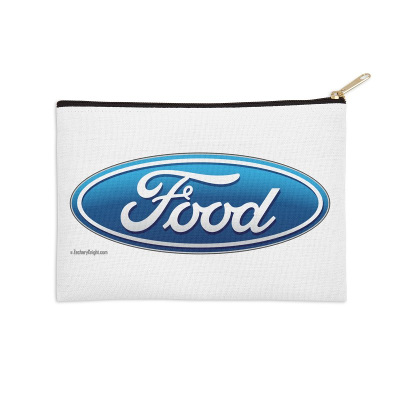 Food Accessories Zip Pouch by Zachary Knight | Artist Shop