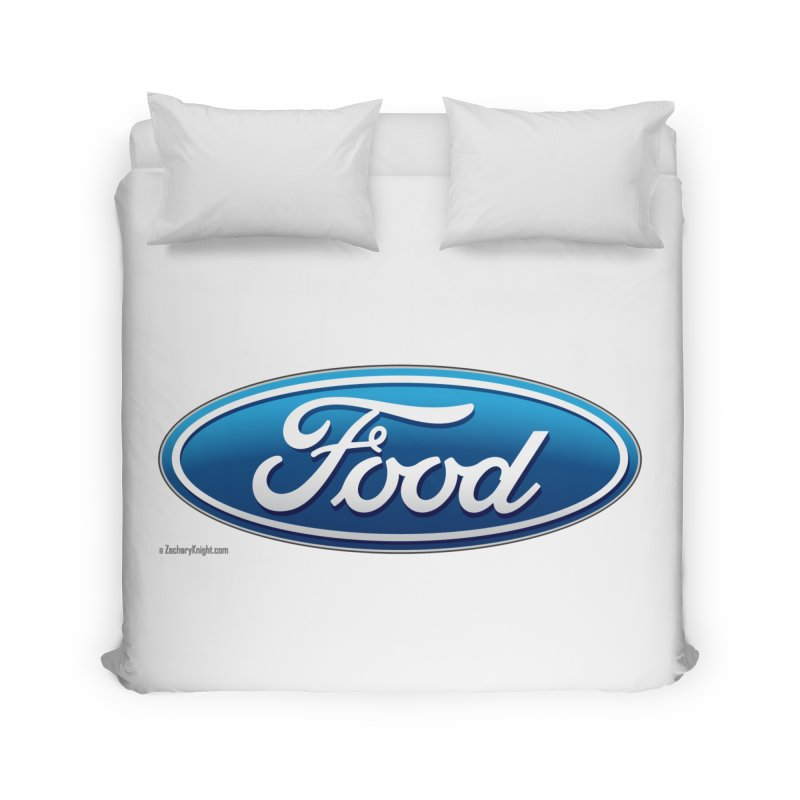 Food Home Duvet by Zachary Knight | Artist Shop